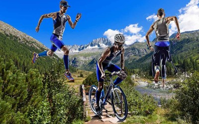 What is an EXTREME TRIATHLON?